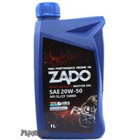 کارتن ۲۴ عددی روغن موتور زادو با حجم ۱لیتر ۲۰W50-SL